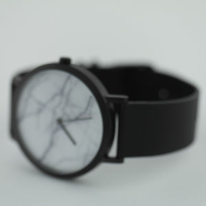 The White Marble ultra-cool wrist watch Deon Dane Kangaroo leather strap