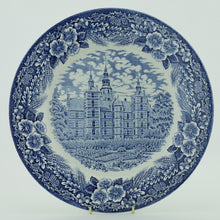 Load image into Gallery viewer, Vintage 1978 pottery plate ROSENBORG SLOT Denmark Royal Decor