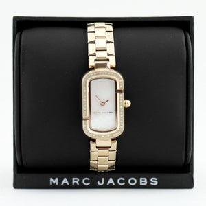 Marc Jacobs ladies wrist watch Rose Gold Logo J Case