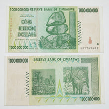 Billion Zimbabwe Dollars note - Original wedding party gift