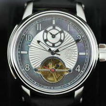 Constantin Weisz Gents Automatic 24 jewels open heart watch with Nacre dial