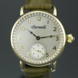 Ingersoll The Trenton Quartz Ladies wrist watch with leather strap