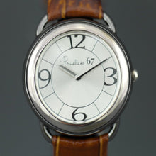 Pomellato 67 limited edition Ladies Swiss watch with Arabian numerals and Leather strap