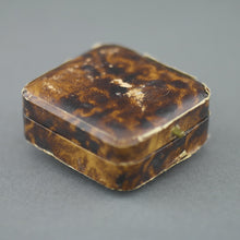 Load image into Gallery viewer, Antique box for dress studs British Empire Woolwich Sanders and Webber