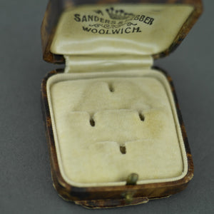 Antique box for dress studs British Empire Woolwich Sanders and Webber