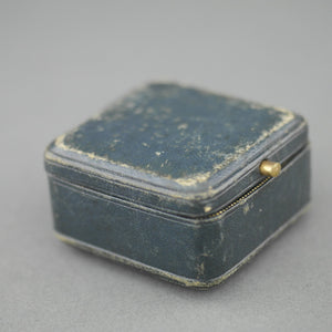 Antique leather box for ring from France Despinoy Rocques DOUAI