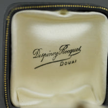 Load image into Gallery viewer, Antique leather box for ring from France Despinoy Rocques DOUAI