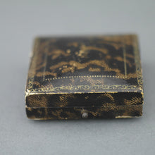 Load image into Gallery viewer, Antique box for brooch, watch jewellery made in British Empire, Blackpool, J. Payne and Sons