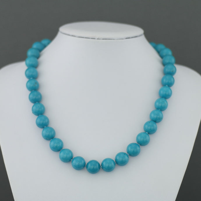 Limited Edition 436ct Turquoise beads 18