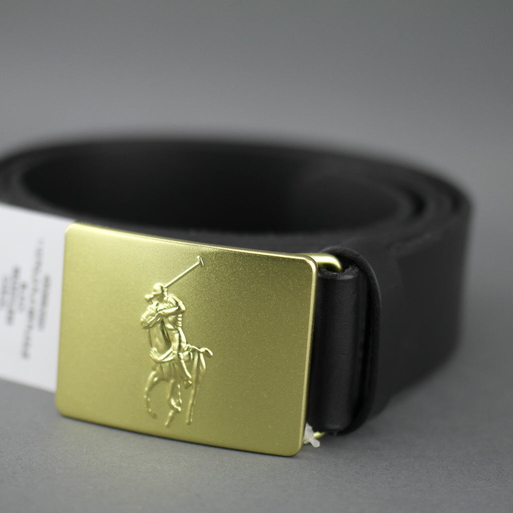 Polo Ralph Lauren Gents Casual black Italian leather belt