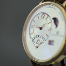 Load image into Gallery viewer, Constantin Weisz Limited Edition Gents Automatic wristwatch 39 jewels leather strap