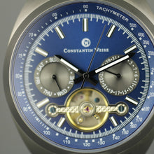 Load image into Gallery viewer, Constantin Weisz Gents Automatic Tachymeter Open heart wrist watch