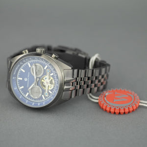 Constantin Weisz Gents Automatic Tachymeter Open heart wrist watch