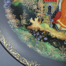 Load image into Gallery viewer, The Dead Princess and the Seven Knights Russian tales Plate Porcelain, Wall Decor