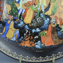 Load image into Gallery viewer, Wall Decor Russian tales plate - The Twelve Months - from Vinogradoff porcelain
