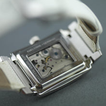 Load image into Gallery viewer, Constantin Weisz Diamonds Mechanical wrist watch white leather strap