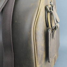 Load image into Gallery viewer, Ashwood Genuine Leather Holiday Business Sport Large Holdall Travel bag mud colour