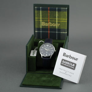Barbour Jesmond a special Gents watch with leather strap
