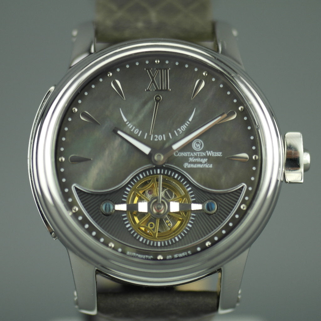 Constantin Weisz Limited Edition Heritage Panamerica Automatic wristwatch 40 jewels