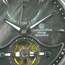 Load image into Gallery viewer, Constantin Weisz Limited Edition Heritage Panamerica Automatic wristwatch 40 jewels