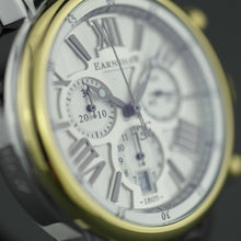 Load image into Gallery viewer, Thomas Earnshaw Longcase 43 Swiss made quartz wrist watch with brown leather strap