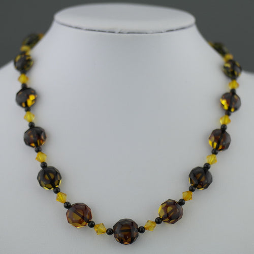 Spectacular German Baltic sea Natural Amber beads necklace