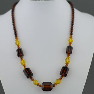 Elegant German Baltic sea Natural Amber beads necklace