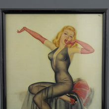 Load image into Gallery viewer, Antique cheesecake Poster from the 1920's Painting by Wilton Williams