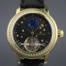 Load image into Gallery viewer, Constantin Weisz Diamonds Automatic wrist Watch 36 jewels snake leather strap