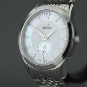 Roamer Galaxy Swiss Ladies wrist watch with nacre dial Sapphire crystal