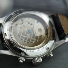 Load image into Gallery viewer, Constantin Weisz Automatic wrist watch with date day night and black leather strap