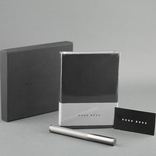 Hugo Boss ballpoint Pen And Notebook Gift Set