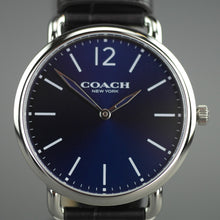 Load image into Gallery viewer, Coach Blue And Brown Classical Watch from Delancey collection