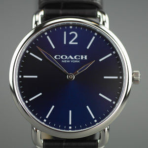 Coach Blue And Brown Classical Watch from Delancey collection