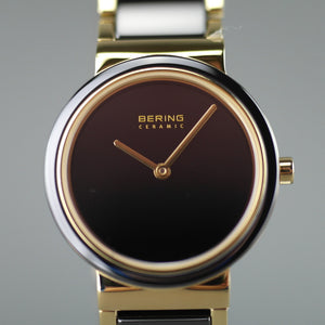 BERING Womens Analogue Quartz Watch with Stainless Steel Strap