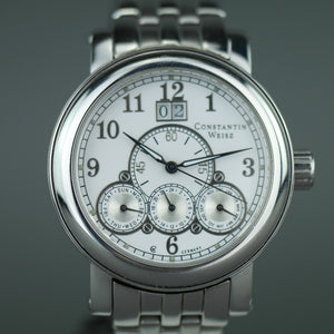 Constantin Weisz Special Edition Automatic wrist watch Date day, weekday, month, 24 subdial