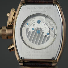 Load image into Gallery viewer, Constantin Weisz Automatic open heart bronze wrist watch with brown dial