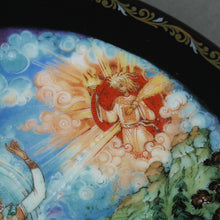 Load image into Gallery viewer, Love's Finale, Russian tales Porcelain Plate from Kholui Art Studio, Wall Decor