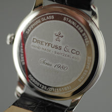 Load image into Gallery viewer, 1980 - Men's Brown Leather Dreyfuss Watch