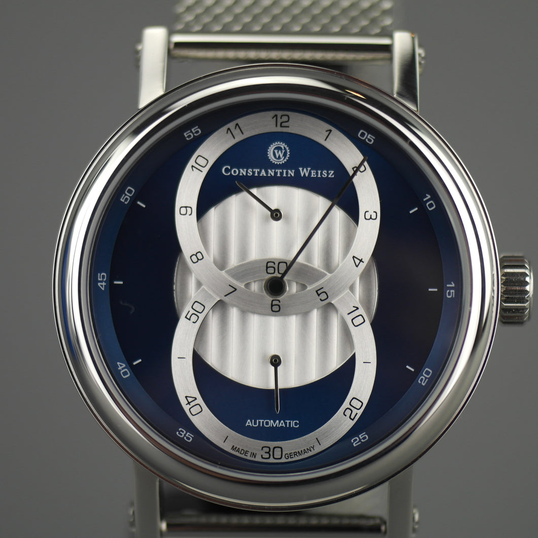 Constantin Weisz Gent's Automatic 20 jewels wrist watch with milanese bracelet