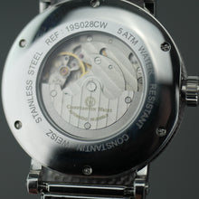 Load image into Gallery viewer, Constantin Weisz Gent's Automatic 20 jewels wrist watch with milanese bracelet
