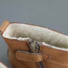 Load image into Gallery viewer, Naturino baby genuine leather boots 4.5 UK or 21 size EU or 12.7cm Length