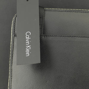 Calvin Klein Leather Icon Flat Crossover