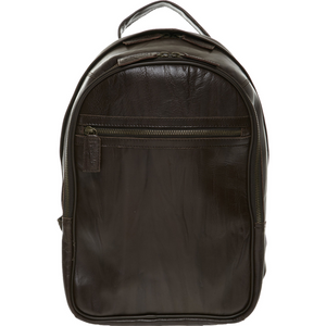 John Partridge Brown Leather Backpack