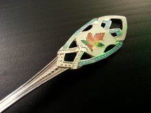 Load image into Gallery viewer, Antique 20thC ornamented solid silver spoon Roden Bros LTD Canada