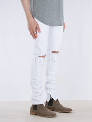 WHITE SELVEDGE DENIM