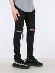 VINTAGE BLACK SELVEDGE DENIM