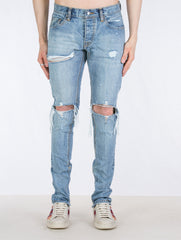 LIGHT BLUE SELVEDGE DENIM