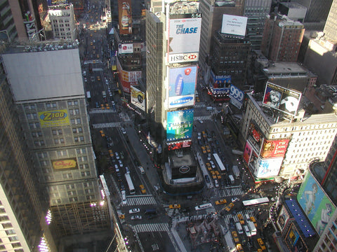 Above Times Square - Mouse Pad Universe
