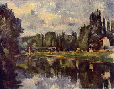 Cezanne: Marne-Ufer - Mouse Pad Universe